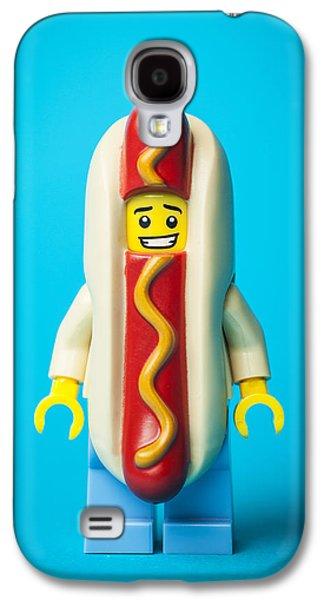 Hotdog Dude Galaxy S4 Case by Samuel Whitton