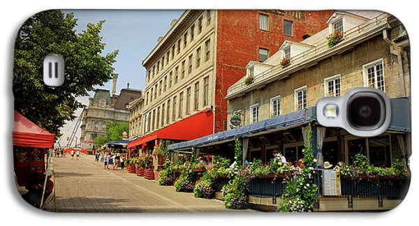 Hotel Nelson - Place Jacques Cartier Galaxy S4 Case by Maria Angelica Maira