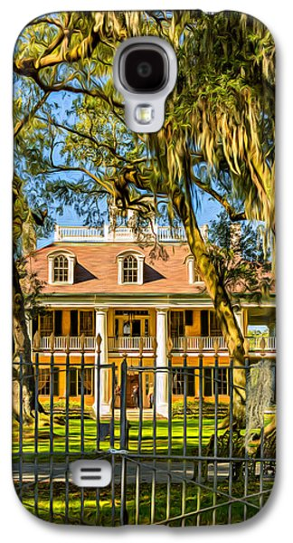 Houmas House Plantation 2 - Paint Galaxy S4 Case by Steve Harrington