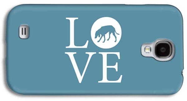 Hound Dog Love Galaxy S4 Case by Nancy Ingersoll