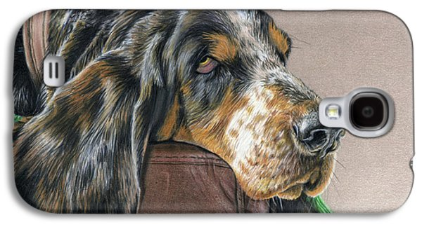 Hound Dog Galaxy S4 Case by Sarah Batalka