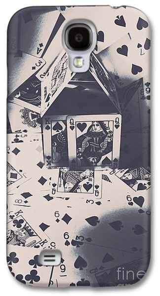 Galaxy S4 Case featuring the photograph House Of Cards by Jorgo Photography - Wall Art Gallery
