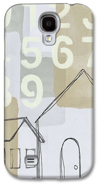 House Plans 3- Art By Linda Woods Galaxy S4 Case