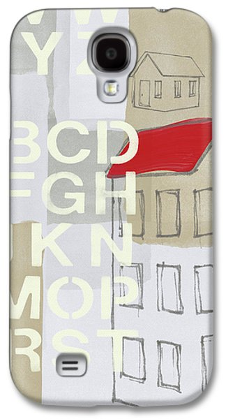House Plans- Art By Linda Woods Galaxy S4 Case by Linda Woods