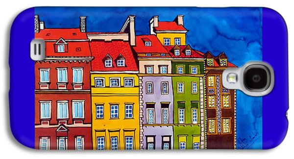 Houses In The Oldtown Of Warsaw Galaxy S4 Case by Dora Hathazi Mendes