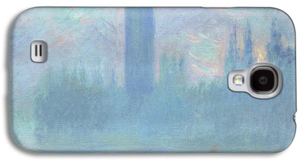 Houses Of Parliament  London Galaxy S4 Case by Claude Monet