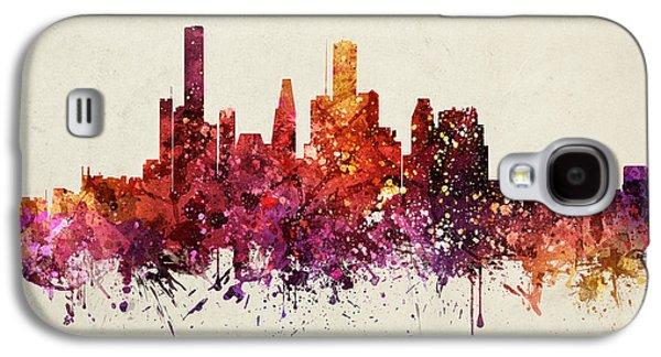 Houston Cityscape 09 Galaxy S4 Case