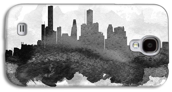 Houston Cityscape 11 Galaxy S4 Case