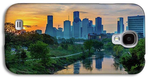 Houston Dawn Galaxy S4 Case by Inge Johnsson