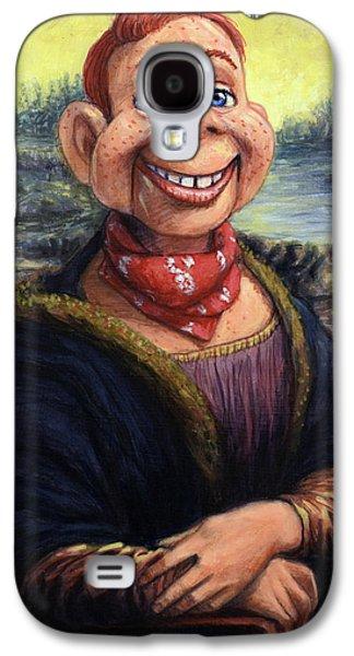 Howdy Doovinci Galaxy S4 Case by James W Johnson