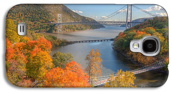 Hudson River And Bridges Galaxy S4 Case