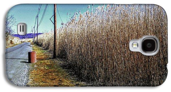 Hudson River Winter Walk Galaxy S4 Case