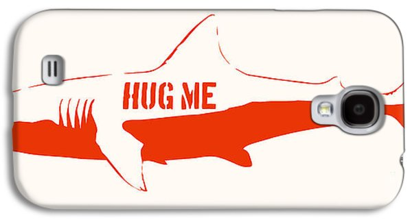 Hug Me Shark Galaxy S4 Case by Pixel Chimp