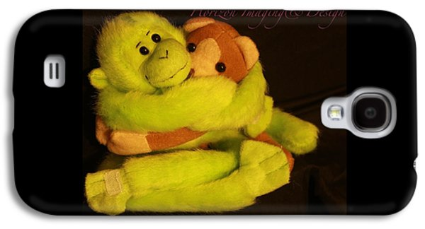 Hugging Monkeys Galaxy S4 Case by John Strapp