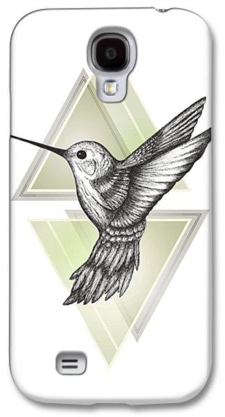 Hummingbird Galaxy S4 Case by Barlena