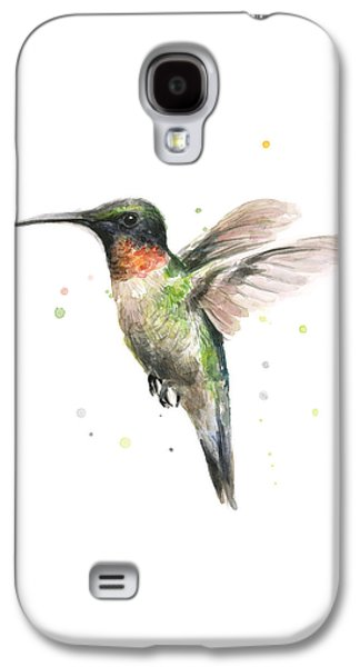 Hummingbird Galaxy S4 Case by Olga Shvartsur