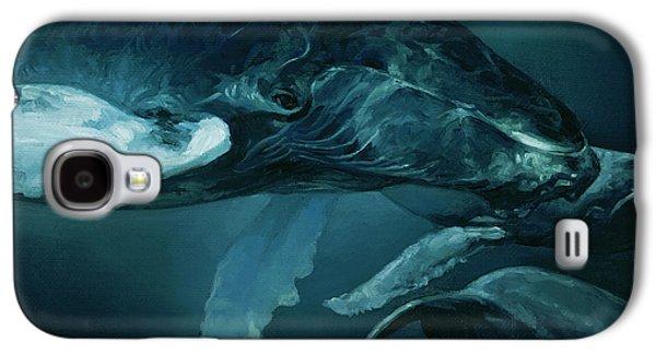 Humpback Whale V Galaxy S4 Case