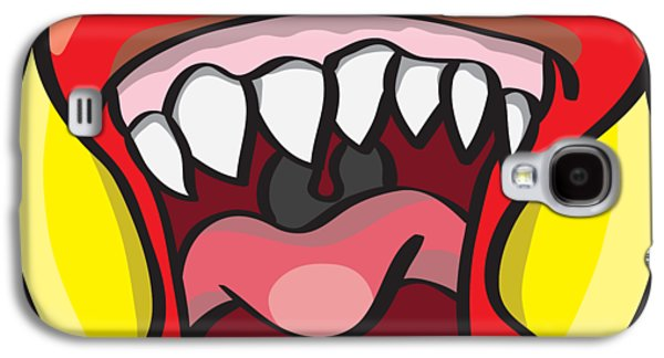Hungry Pacman Galaxy S4 Case by Jorgo Photography - Wall Art Gallery