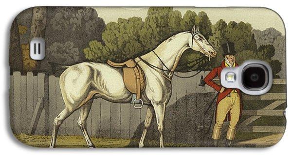 Horse Galaxy S4 Case - Hunter by Henry Thomas Alken