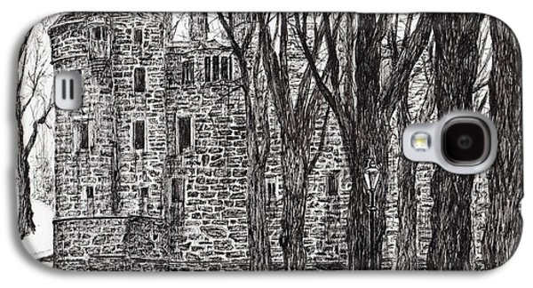 Huntly Castle Galaxy S4 Case by Vincent Alexander Booth