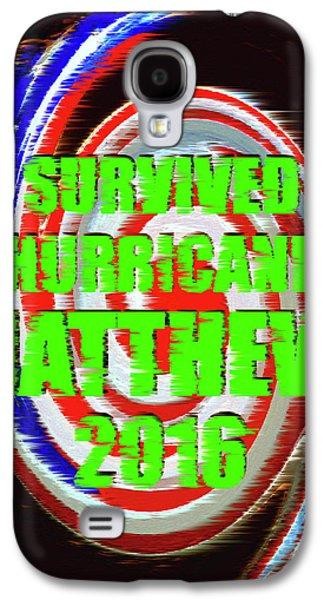 Hurricane Matthew Survivor Galaxy S4 Case