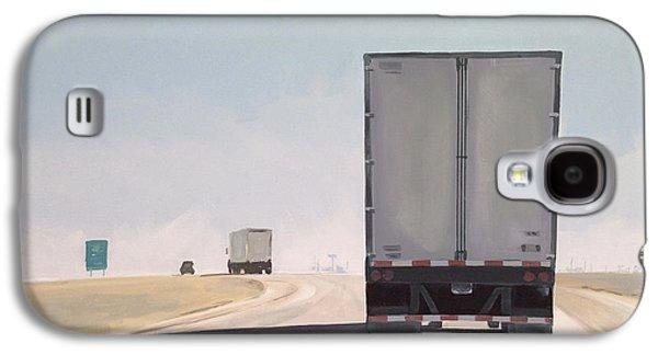 I-55 North 9am Galaxy S4 Case by Jeffrey Bess