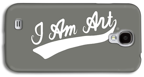 I Am Art Swoosh- Art By Linda Woods Galaxy S4 Case by Linda Woods
