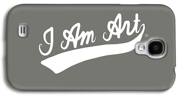 I Am Art Swoosh- Art By Linda Woods Galaxy S4 Case