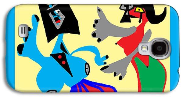 I Can Dance Like Picasso Galaxy S4 Case by International Artist Brent Litsey