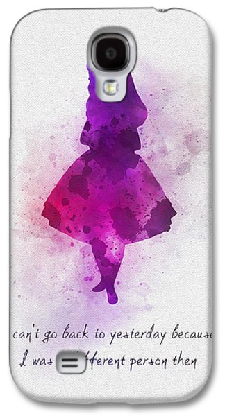 I Can't Go Back To Yesterday Galaxy S4 Case by Rebecca Jenkins