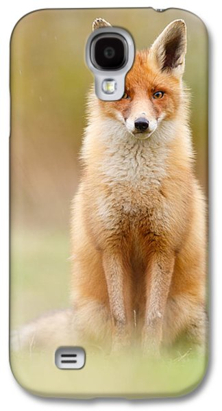 I Can't Stand The Rain Galaxy S4 Case by Roeselien Raimond
