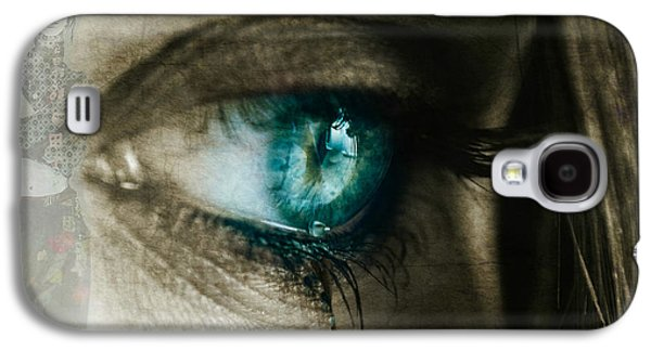 I Cried For You  Galaxy S4 Case by Paul Lovering
