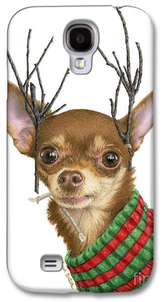 I Is Ready Fer Christmas Galaxy S4 Case by Sarah Batalka