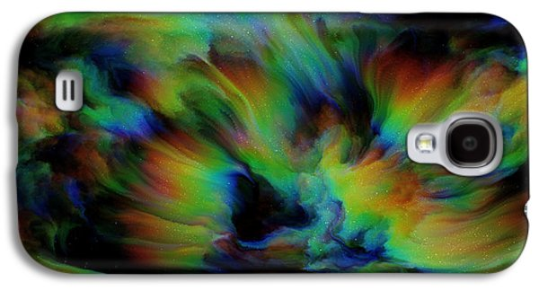 Show Sum Spinal Nebula Galaxy S4 Case by Betsy Knapp