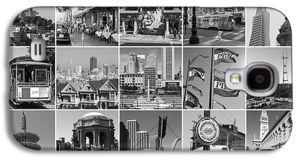 I Left My Heart In San Francisco 20150103bw Galaxy S4 Case by Home Decor