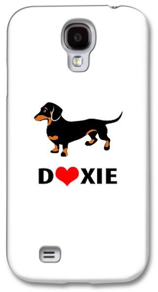 I Love My Doxie Galaxy S4 Case
