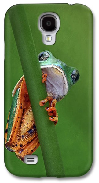 I See You - Tiger Leg Monkey Frog Galaxy S4 Case