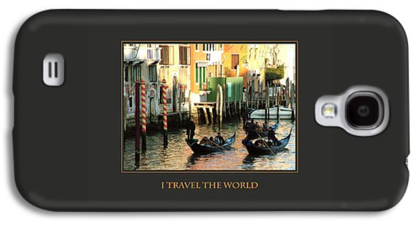 I Travel The World Venice Galaxy S4 Case by Donna Corless