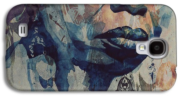 Rhythm And Blues Galaxy S4 Case - I Wish I Knew How It Would Be  Feel To Be Free by Paul Lovering