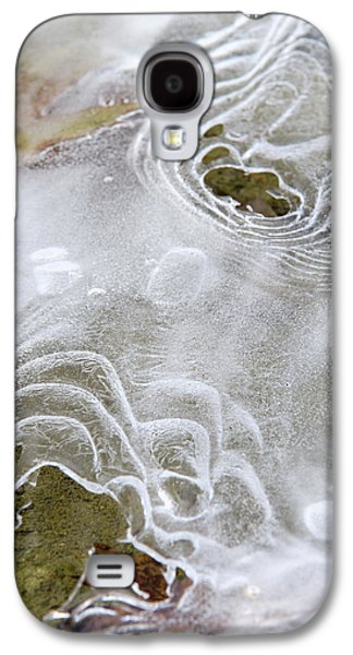 Galaxy S4 Case featuring the photograph Ice Abstract by Christina Rollo