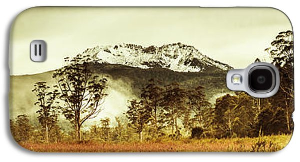 Ice Covered Mountain Panorama In Tasmania Galaxy S4 Case by Jorgo Photography - Wall Art Gallery