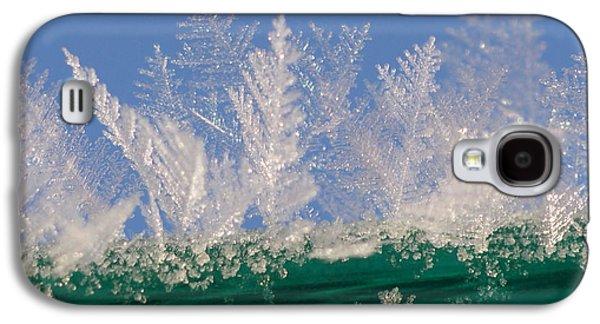 Ice On A Line Galaxy S4 Case by Carol Lynch