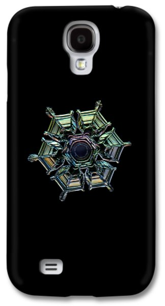 Ice Relief, Black Version Galaxy S4 Case