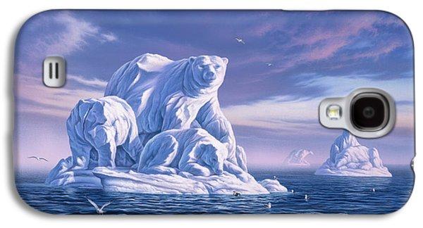 Icebeargs Galaxy S4 Case by Jerry LoFaro