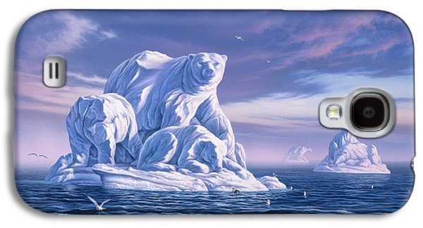 Icebeargs Galaxy S4 Case by Jerry LoFaro