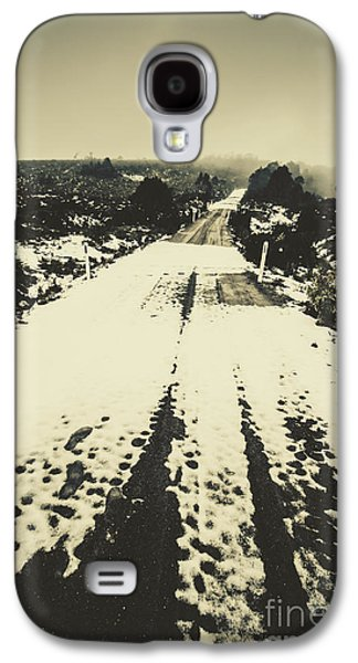 Iced Over Road Galaxy S4 Case