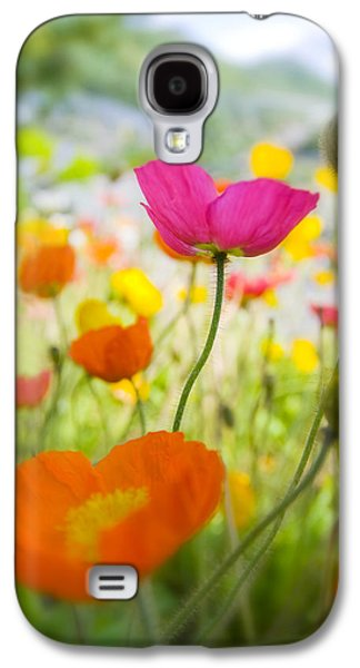 Iceland Poppies Galaxy S4 Case by Silke Magino