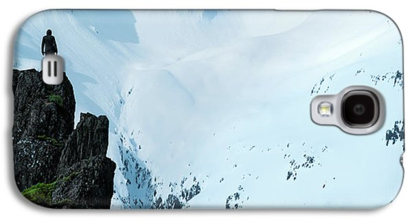 Iceland Snow Covered Mountains Galaxy S4 Case