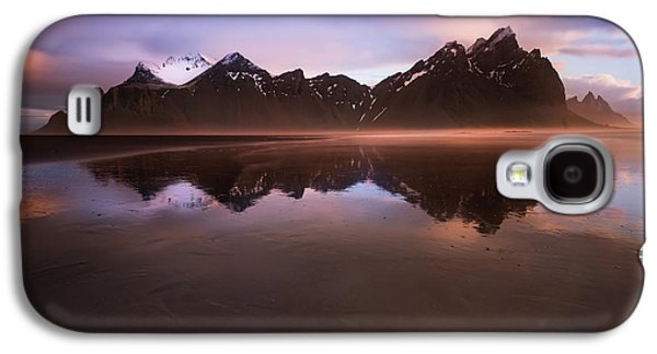 Iceland Sunset Reflections Galaxy S4 Case