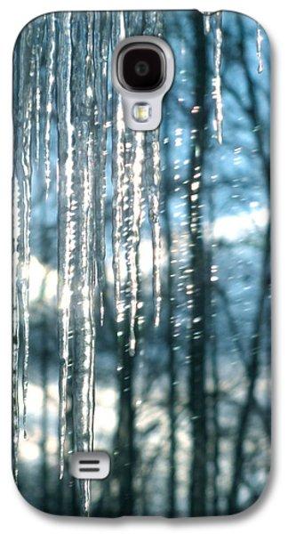 Icicle Art Fun 10 Galaxy S4 Case by Debra     Vatalaro